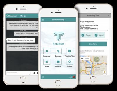 Truece Divorce, Child Custody & Co-parenting App