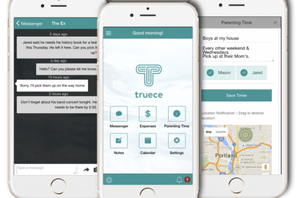 Truece Divorce, Child Custody & Co-parenting App