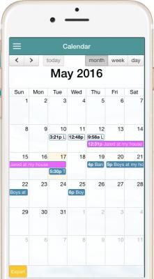 Truece Shared Calendar | Truce Divorce, Custody, Co-Parenting App