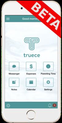 Truece Homescreen - Beta | Truce Divorce, Custody, Co-Parenting App
