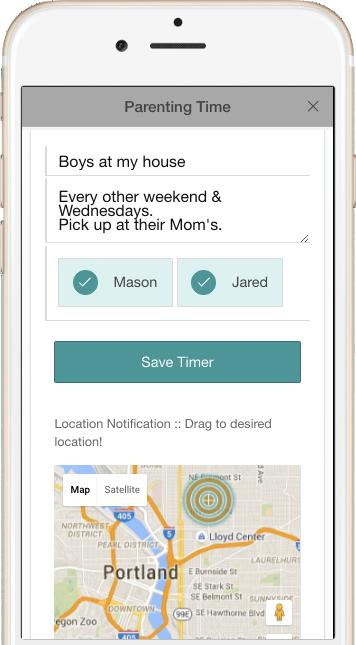 Truece Parenting Time | Truce Divorce, Custody, Co-Parenting App