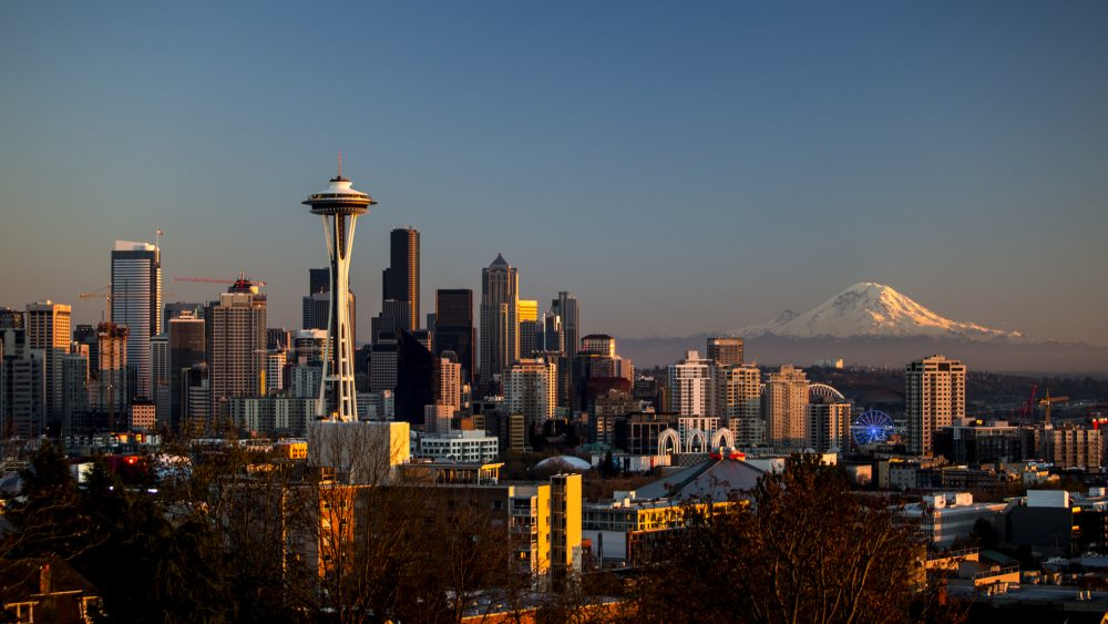 Seattle Washington Skyline - NW Startup Culture | Truce Divorce, Custody, Co-Parenting App